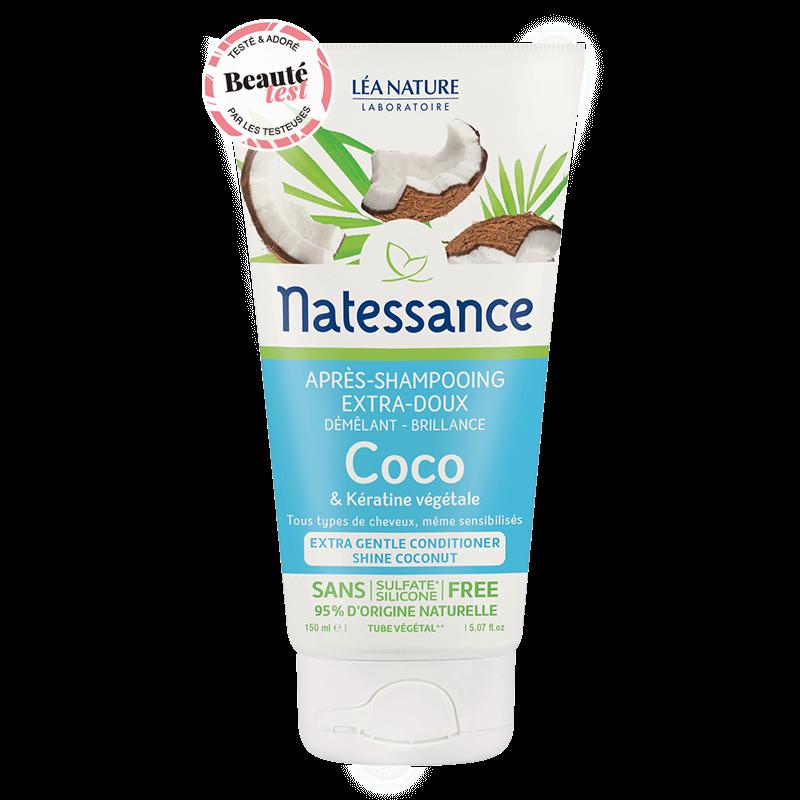 Apres shampooing bio : natessance Coco
