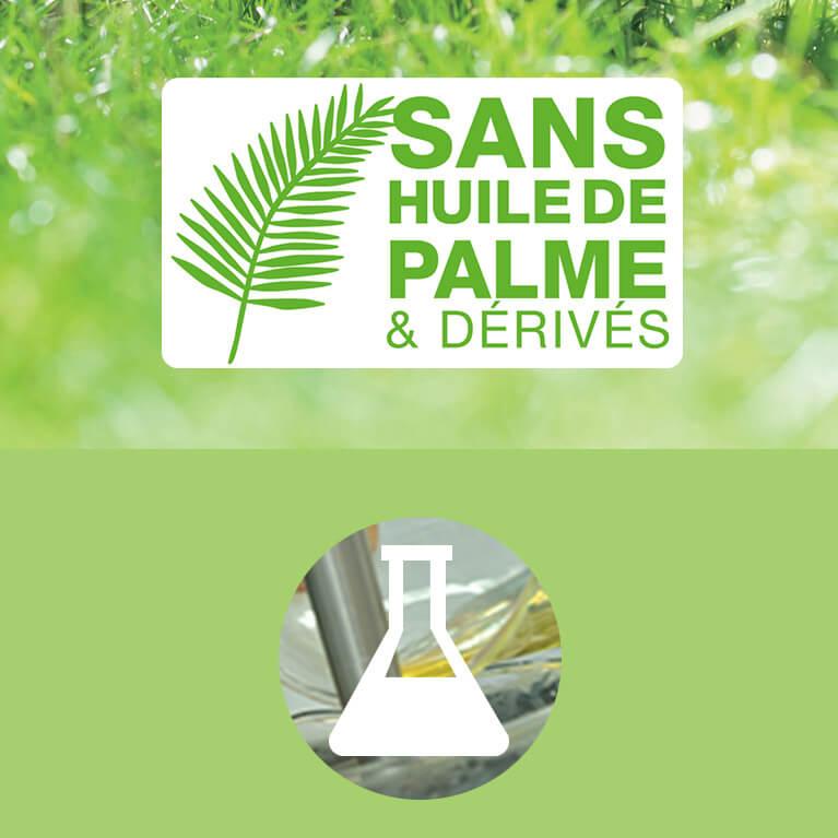 Les produits Natessance sans huile de palme