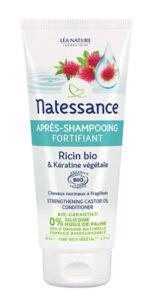 L'après-shampooing au ricin bio Natessance®