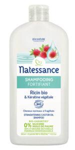 Le shampooing au ricin bio Natessance®