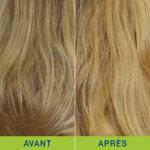 Test soin colorant blond Natessance