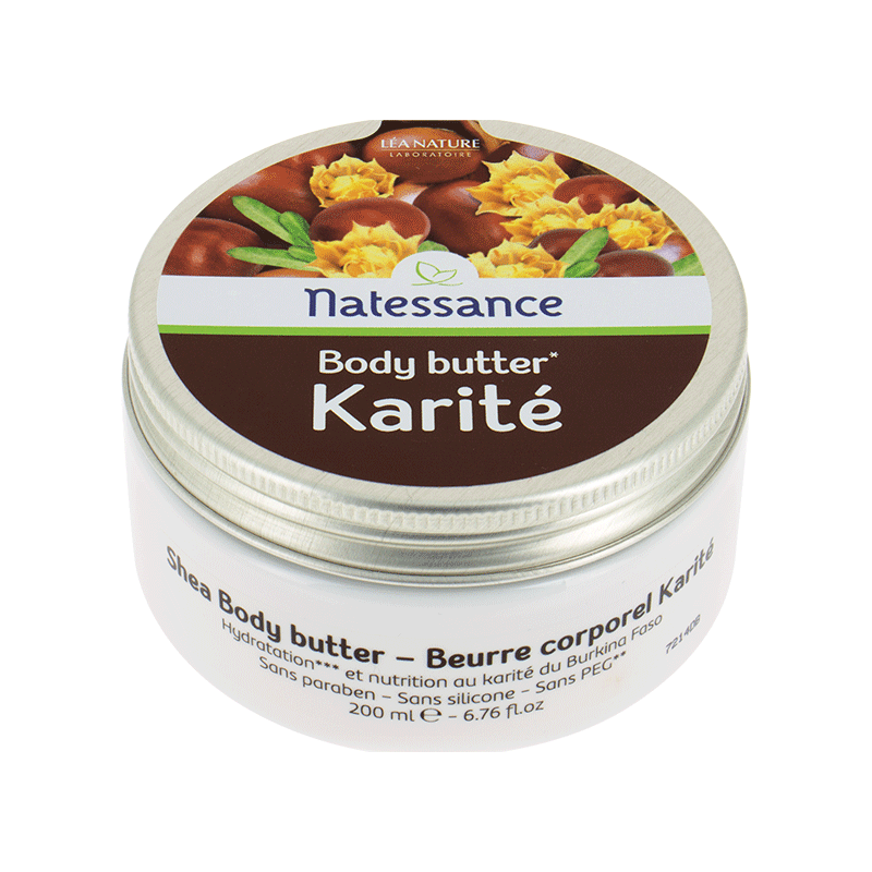 Body Butter* Karité – 200ml_image1