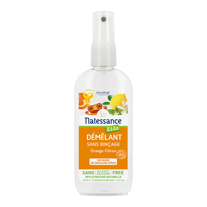 Démêlant sans rinçage Kids Bio Orange-Citron – 150 ml_image
