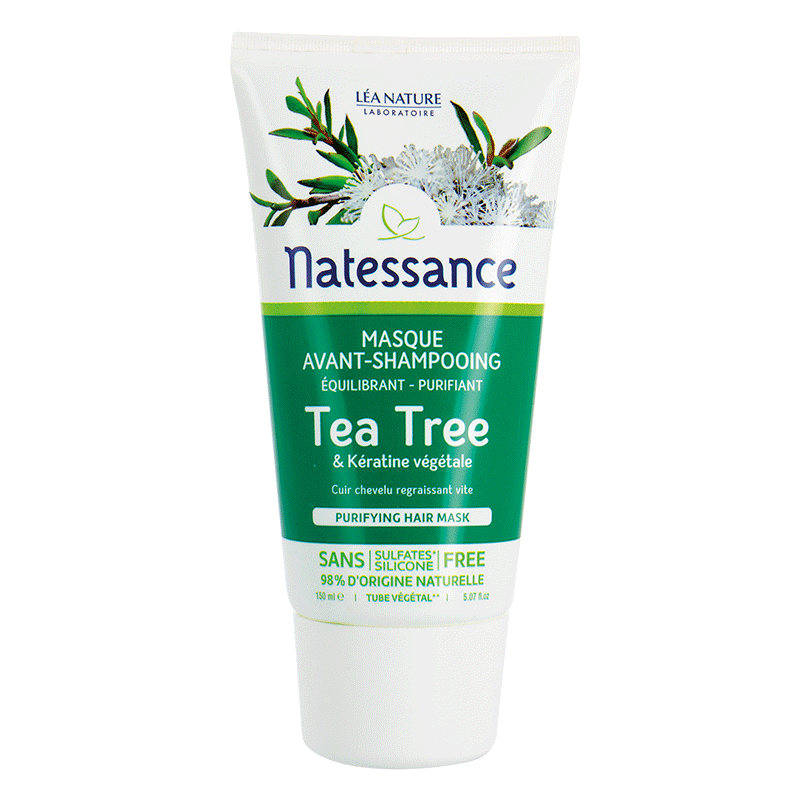 Masque avant-shampooing équilibrant purifiant Tea Tree – 150_image