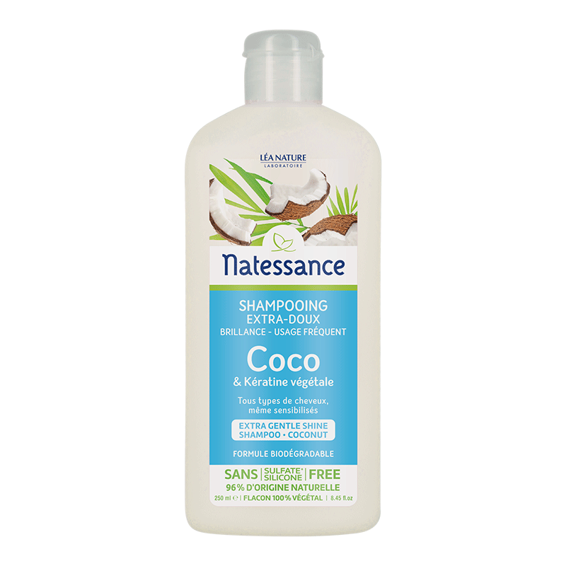 Shampooing extra-doux coco – 250 ml_image